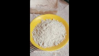 Weight Loss Diet/Diabetes-Friendly Atta/No Knead Roti: Autolysis