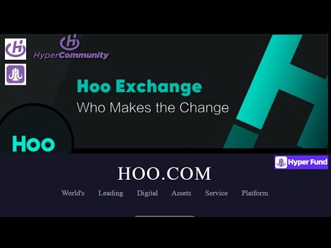Hoo Exchange by HyperTech` Full Fledged Crypto Exchange With Leverage, Alts, Margin, Spot- HYPERFUND