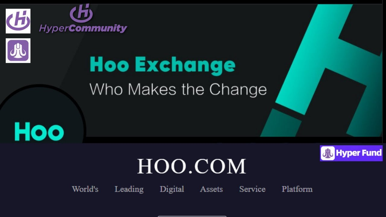 Download Hoo Exchange by HyperTech` Full Fledged Crypto Exchange With Leverage, Alts, Margin, Spot- HYPERFUND