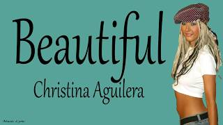 Christina Aguilera Beautiful Lyric
