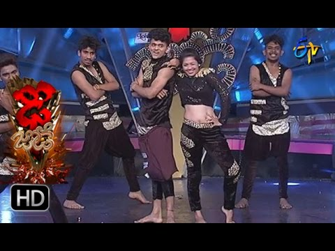 Sanketh and Priyanka Performance | Dhee Jodi | 5th April 2017 | ETV Telugu