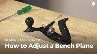 How to Adjust a Beฑch Plane | Woodworking