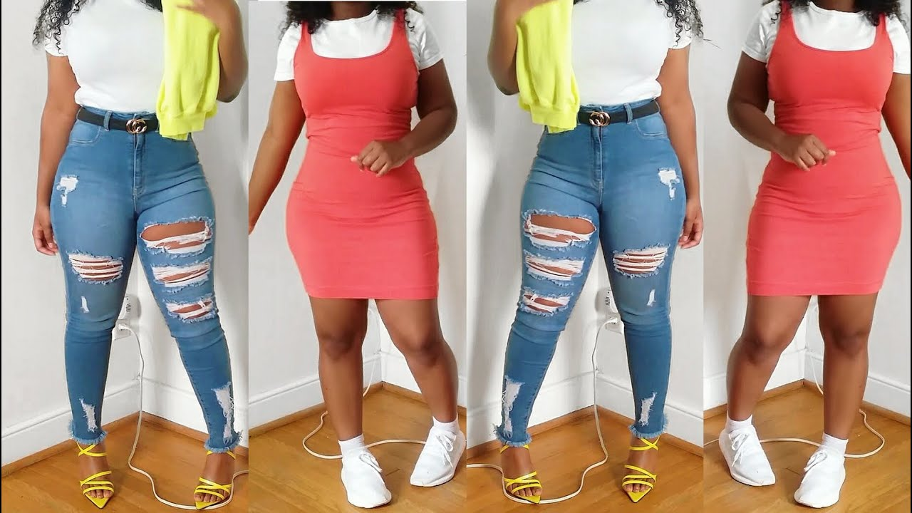 [VIDEO] - Styling spring outfits ft. Victoria Lashay! 3