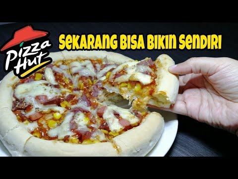 Cara Mudah Membuat Pizza Teflon, Empuk dan Enak Seperti Pizza Oven (Bahan Sederhana).