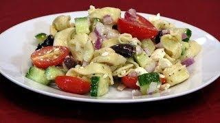 Greek Tortellini Salad -- Lynn's Recipes