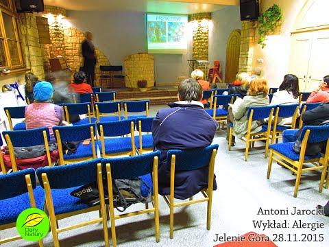 Prezentacja i wykład o alergiach pokarmowych Antoniego Jarockiego