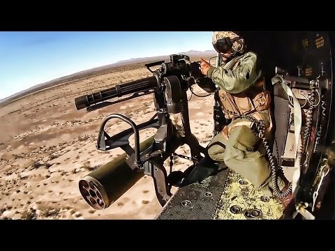 Helicopter Door Gunners Hunt & Shoot