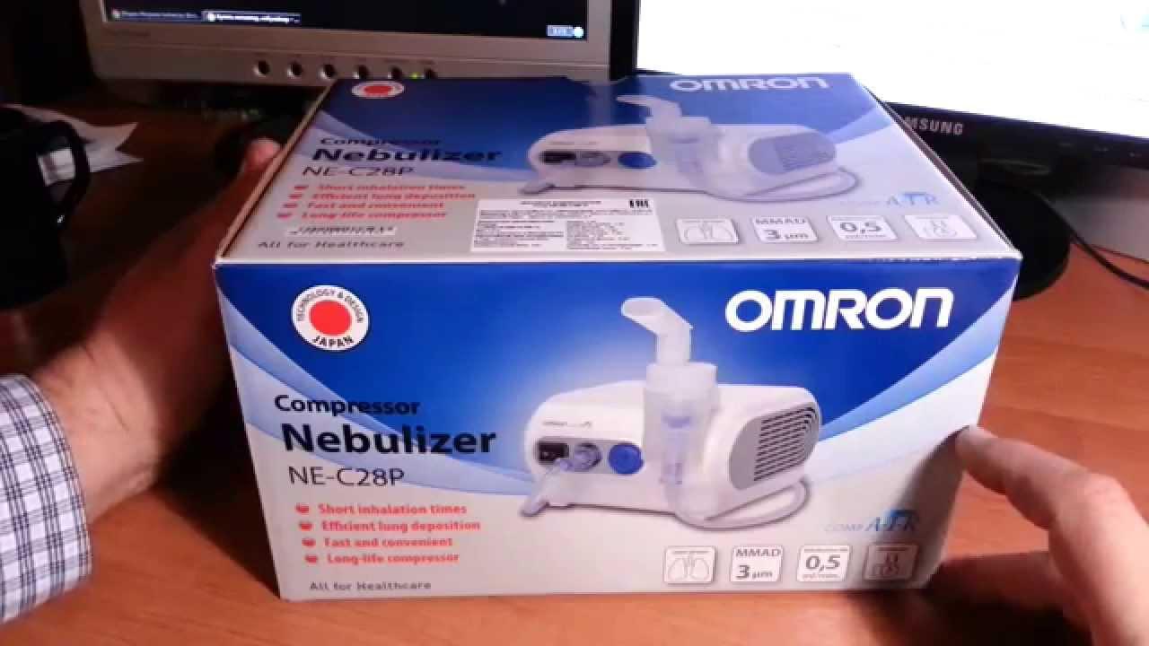 ингалятор Omron comp air NE c28 - YouTube