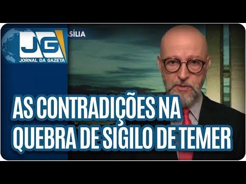 Josias de Souza/As contradições na quebra de sigilo de Temer