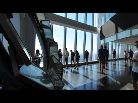 One World Observatory at One World Trade Center on Wednesday July 22, 2015.