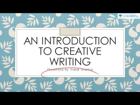 An Introduction to Creative Writing by Palak Sharma (CAT GRE UPSC GMAT)