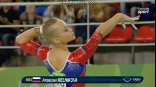 Angelina Melnikova RUS Qual Fx Olympics Rio 2016