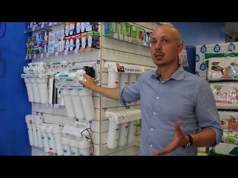Обзор фильтров для воды? Какой лучше для Калининградской воды? Магазин Аквамед.