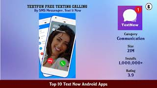 Top 10 Text Now Android Apps screenshot 5