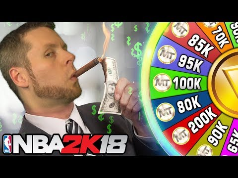 WHEEL OF RICHES! BLOWING MT on NBA2K18