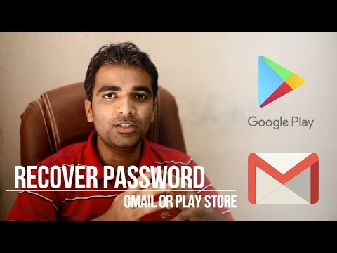 Recover email and Password with password manager