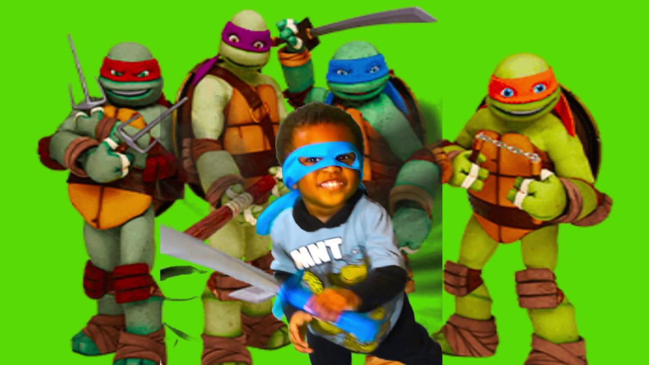 87aadf99d066 TMNT Combat Gear Sound FX LEO Toy Review For Kids - Toy Unboxing ...