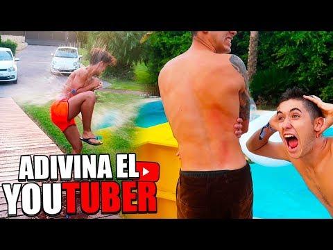 ADIVINA EL YOUTUBER CON GLOBOS DE AGUA EXTREMO!!