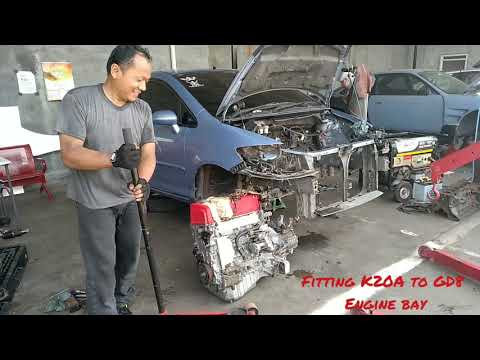 K20A Type R to GD-8 Honda Swap engine (Part 2-1)