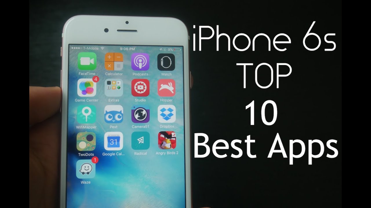 top apps for iphone iphone 6s top 10 best apps 3636