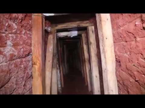 Drug Tunnel Discovered in Naco, Arizona
