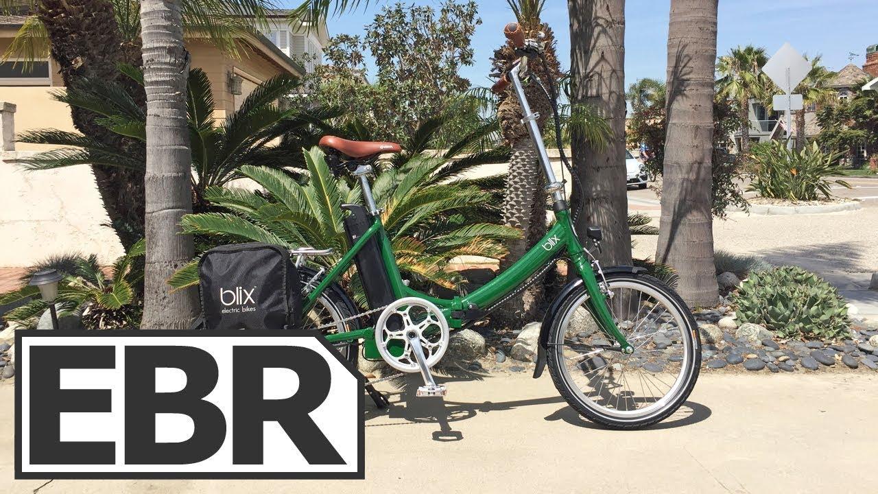 a779e3117b4 Blix Vika+ Video Review - $1.6k Quiet, Smooth, Elegant Folding Electric Bike,  Three Colors