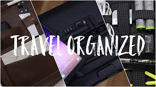Best Travel Tech   Carry On, Bags & Must See Organizers