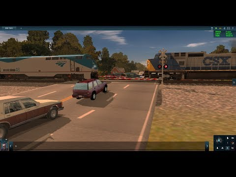 Trainz Railfanning Pt 112: CSX And Amtrak Railfanning
