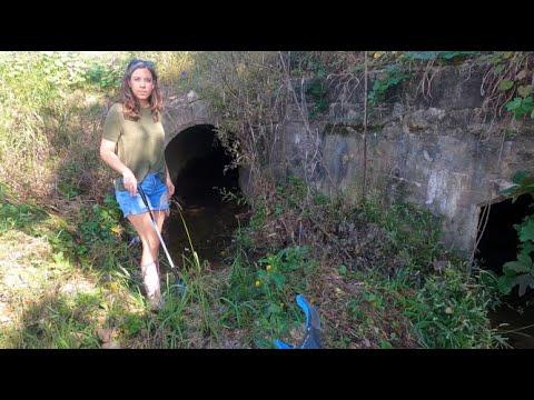 City Creek Treasure Pt 1:She Found Jewelry Immediately
