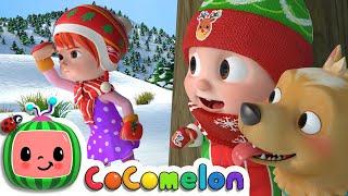 Hide and Go Seek in the Snow (Jingle Bells) | CoComelon Nursery Rhymes & Kids Songs