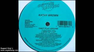 """Kathy Brown """"Can"""