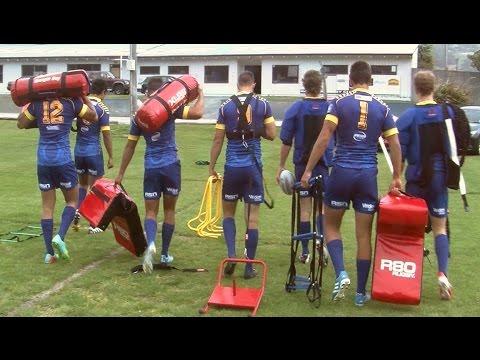 Otago training with R80 Rugby
