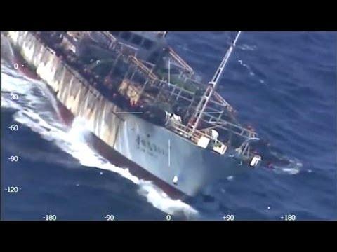 Argentina Sinks Chinese Fishing Boat