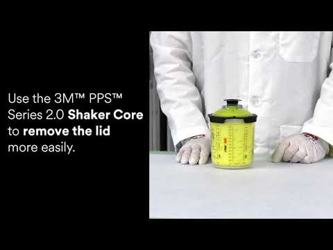 3M™ PPS™ Series 2.0 - How to remove the lid and liner