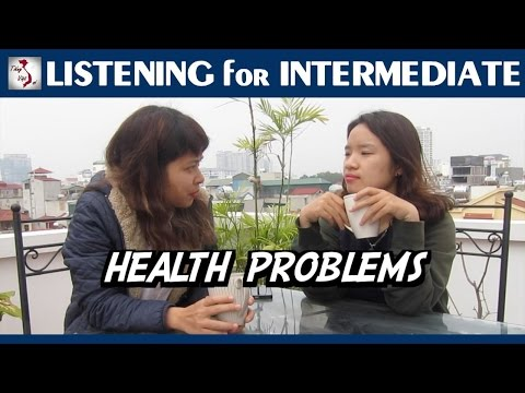Learn Vietnamese with TVO   Listening for Intermediate: Health Problems