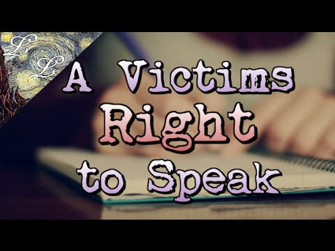 A Victims Right To Speak: Advice On Writing An Impact Statement