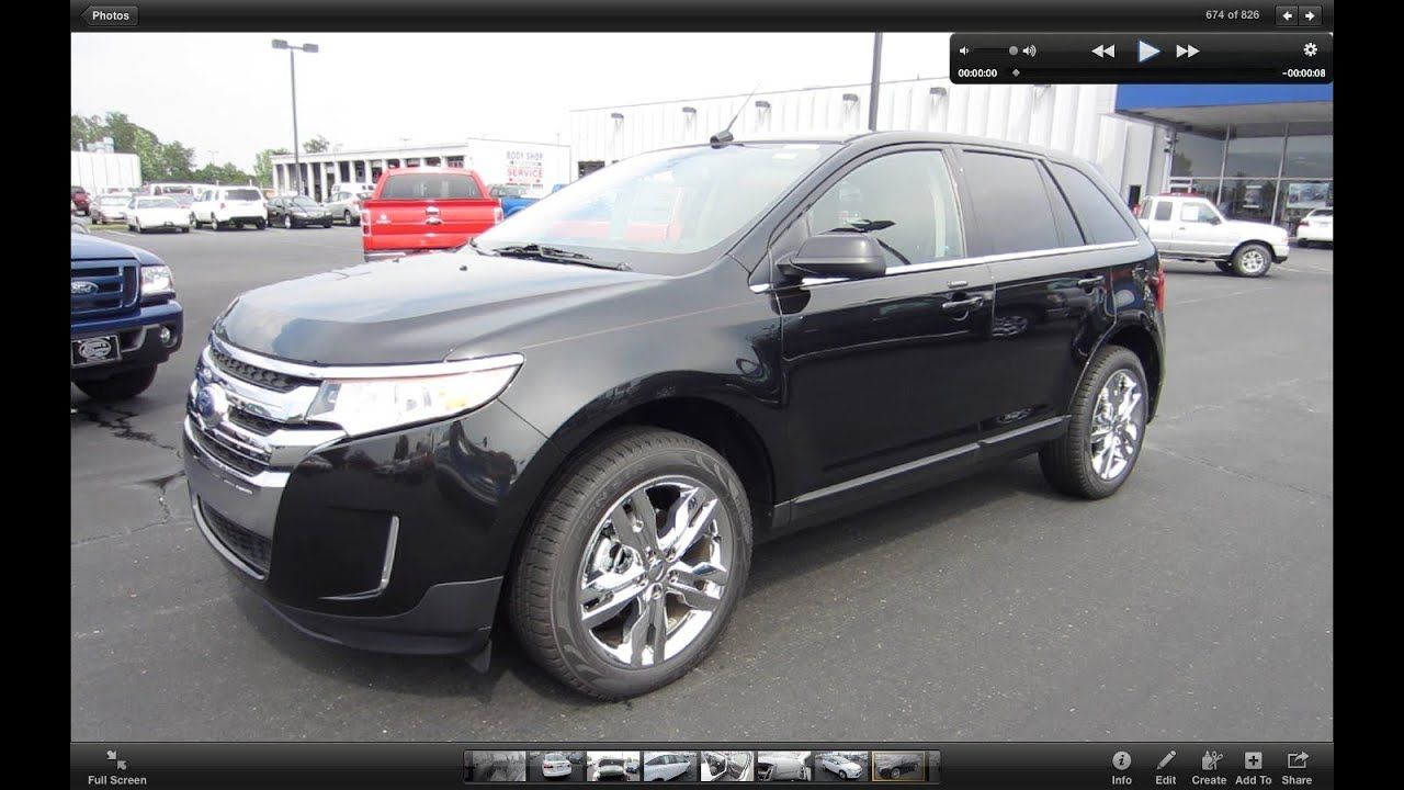 2011 ford edge limited start up engine and in depth tour youtube. Black Bedroom Furniture Sets. Home Design Ideas