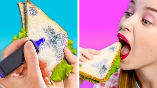 FOOD PRANKS ON YOUR FAMILY    Best Prank Wars And Tik Tok Memes by 123 GO! GOLD!