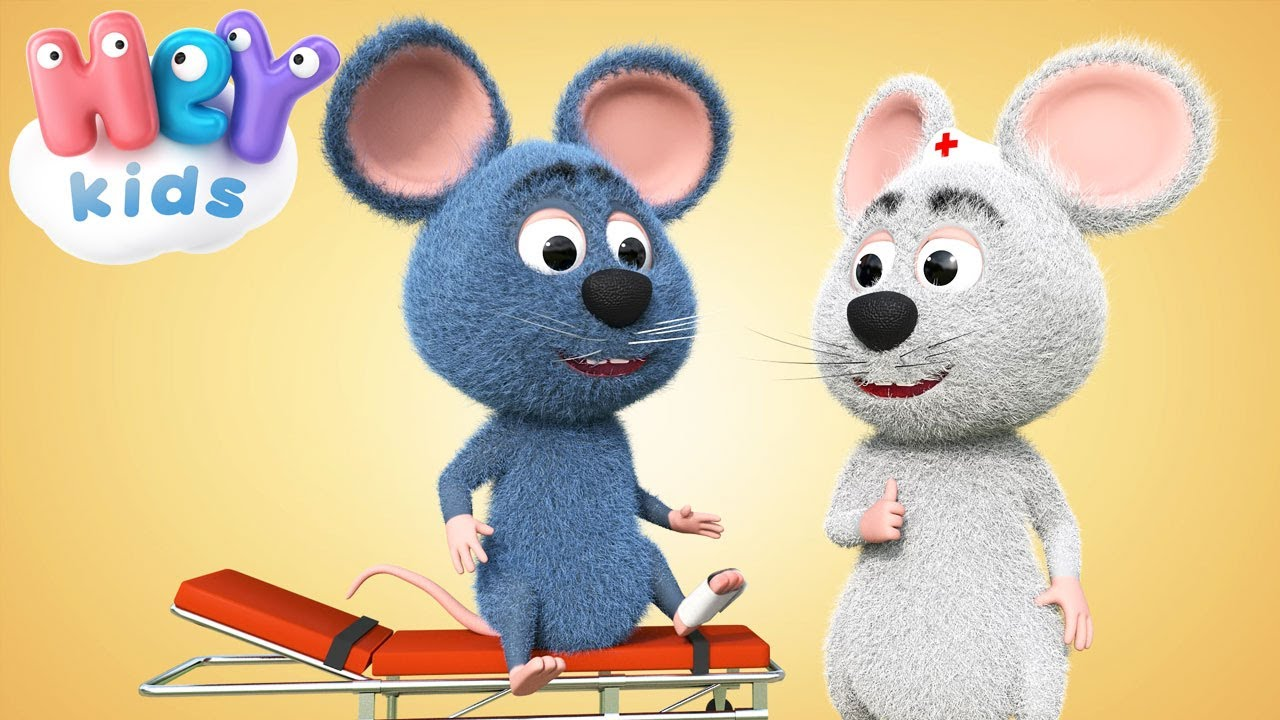 El Ratón Zum Pa Pa | Canciones infantiles y videos para niños - HeyKids