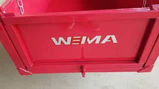 Как выглядит минидумпер WEIMA WM7B-320A? Где купить думпер WEIMA (Grunwelt)?
