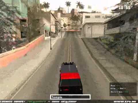 GTA San Andreas A Team Van