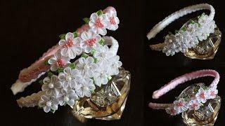 Flores de Fitas – Master Class Kanzashi