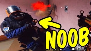 A Noob's Road to Glory - Rainbow Six Siege Funny Moments & Epic Stuff | Teo
