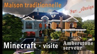 Minecraft - Visite d'une villa traditionnelle