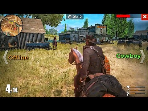Top 10 New Offline Games Like Read Dead Redemption | Western Games For Android 2019