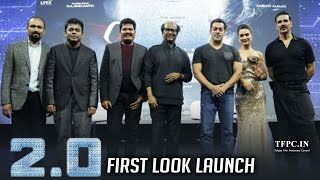2.0 Movie First Look Launch Full Event | Rajinikanth | Akshay Kumar | Amy Jackson | TFPC