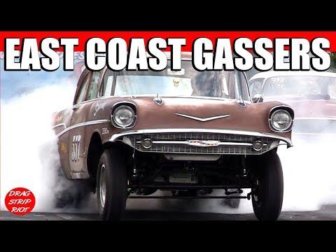 Gasser Reunion Nostalgia Drag Racing Beaver Springs Dragway 2012