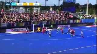 Germany v Belgium Match Highlights - Men