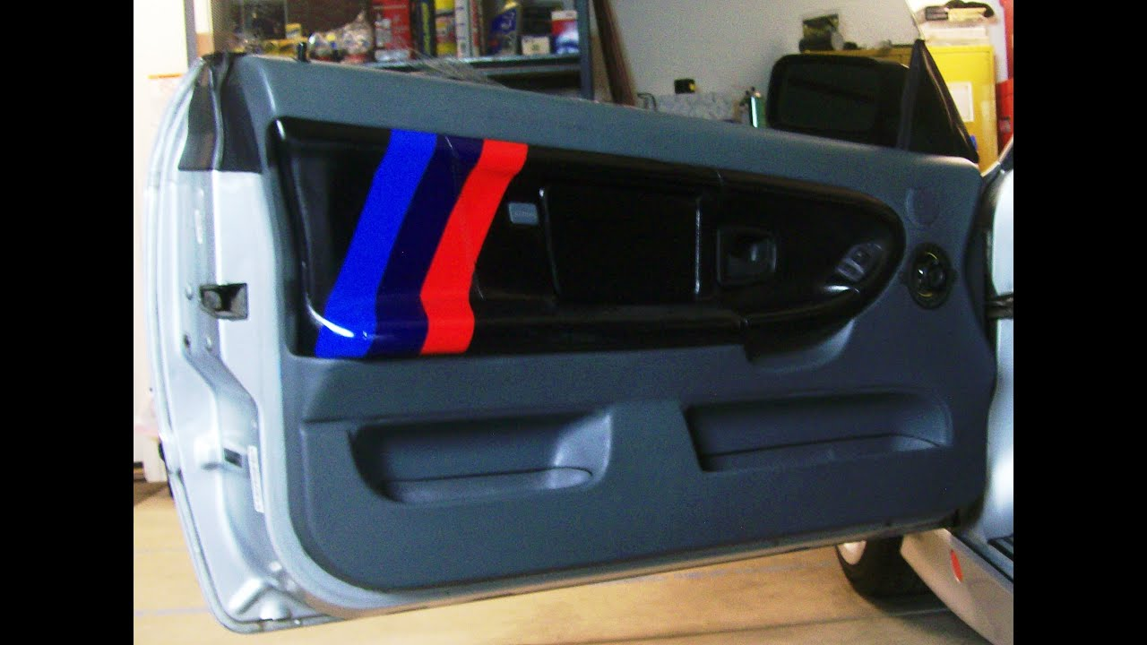 BMW E36 Series Door Panel M3 Transformation By