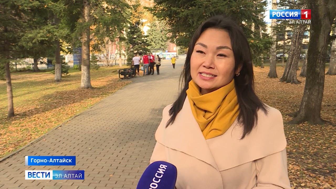 В центре Горно-Алтайска появились таблички с популярными алтайскими словами с переводом на русский